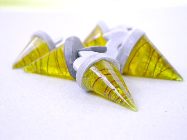 Core Drill//Tengen Toppa Gurren Lagann Состав: пластик, проволока, полимерная глина Размер: 4 см Цена: 500 руб.